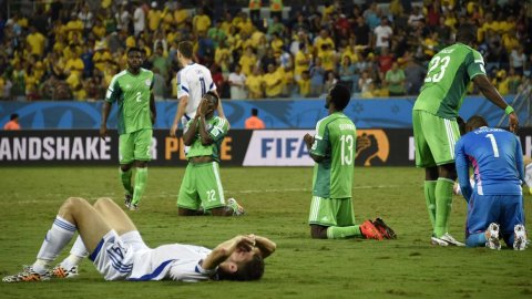 Nigeria venció a Bosnia y lo eliminó de la Copa del Mundo 40e3ee1ac33b5