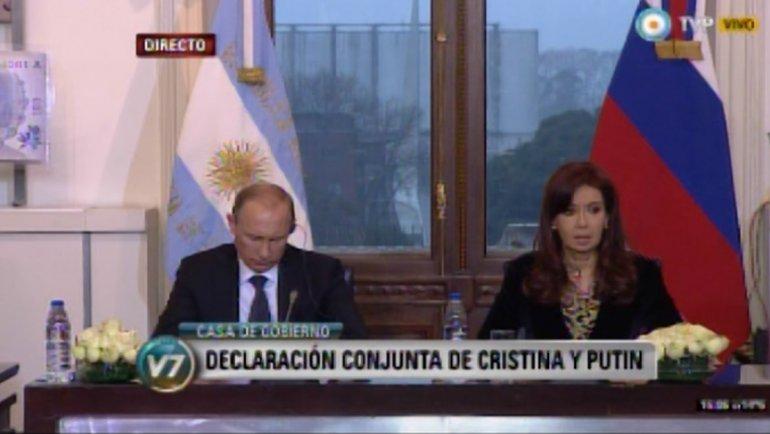 Alerta en el Reino Unido: aseguran que Rusia le ofreció aviones de combate a la Argentina 0011281884