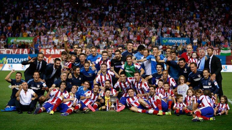 El Atlético venció al Real Madrid y se quedó con la Supercopa