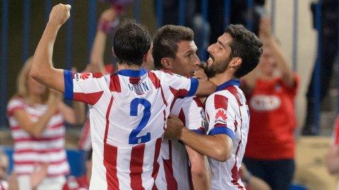 El Atlético Madrid superó al Eibar