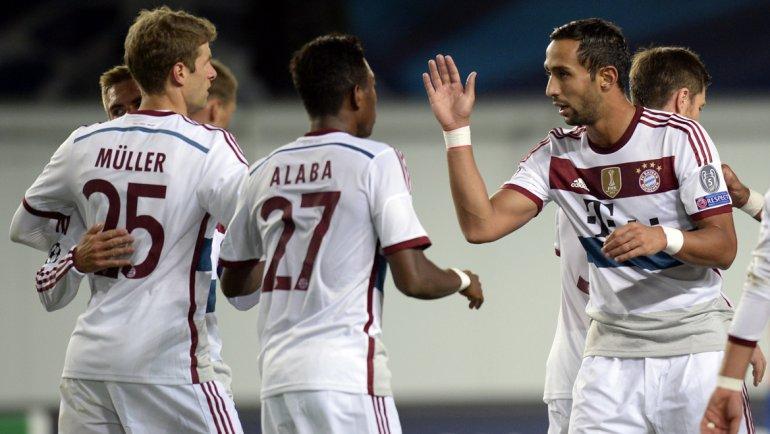 El Bayern Múnich de Guardiola ganó en Rusia por Champions