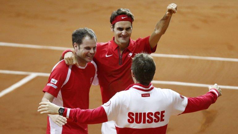 Roger Federer hace historia: ganó la Davis, el título que le faltaba