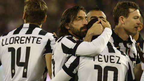 Furioso arranque de Tevez que madruga y así la Juve le gana el título al Napoli