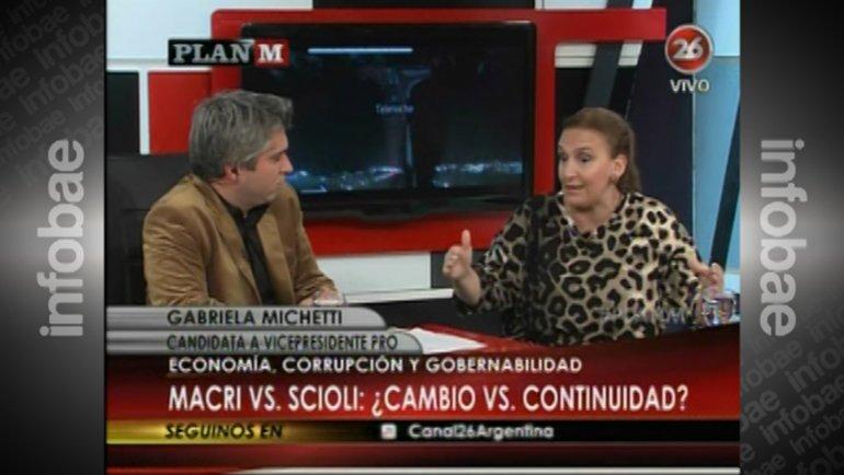 Michetti: El 60% de los argentinas quiere un Gobierno distinto