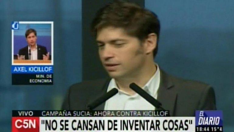 Kicillof rechazó la denuncia por enriquecimiento ilícito y apuntó contra Macri
