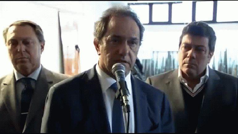 Scioli: Yo gobierno un territorio 1500 veces más grande que la Ciudad