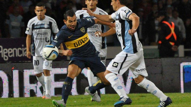 Boca 1 - Belgrano 0 - Final del partido