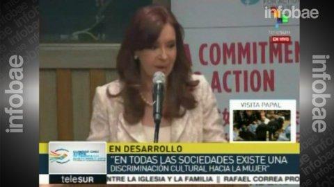 El discurso de Cristina Kirchner