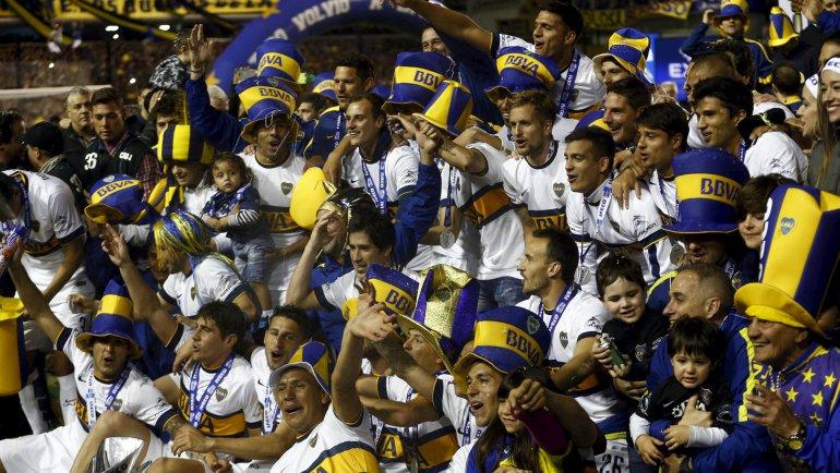 Boca campeon 2017 decendido