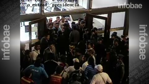 Militantes de la Tupac Amaru intentaron ingresar a la Legislatura jujeña por la fuerza
