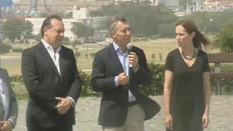 Mauricio Macri y María Eugenia Vidal inauguraron la temporada de verano en Mar del Plata