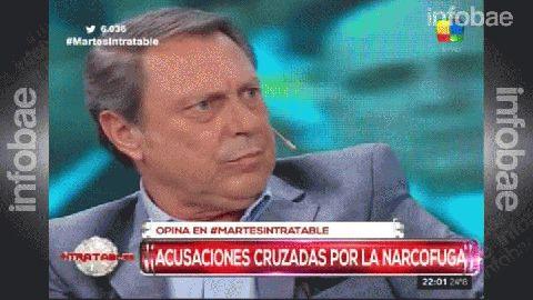 Ricardo Casal mostró la autorización judicial en Intratables