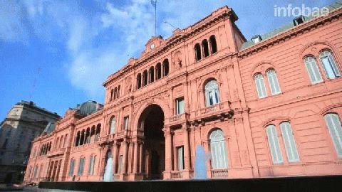 Imágenes del recorrido virtual de Casa Rosada estrenado este martes
