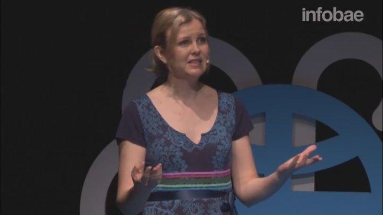 En su video, Eirin bromea sobre las diferencias culturales entre Argentina y Noruega.
