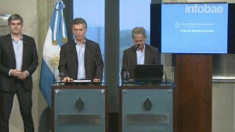 El discurso de Mauricio Macri