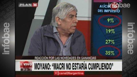 Hugo Moyano: Espero que no haga falta llegar a un paro