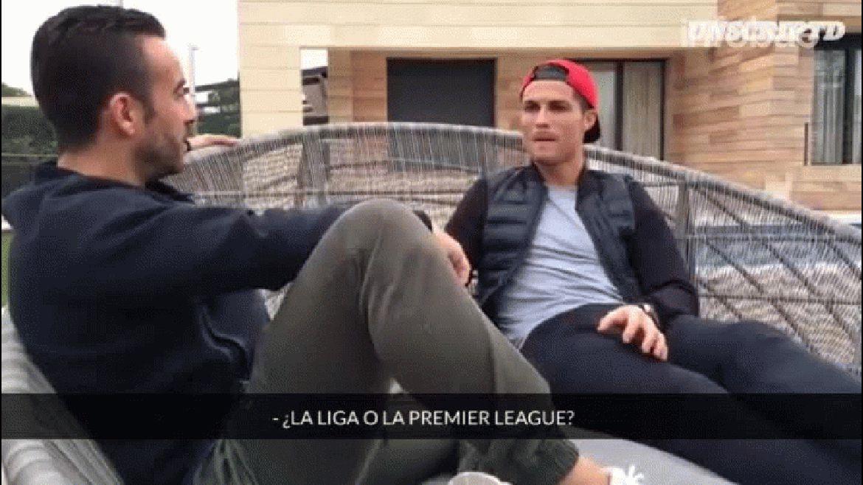 Cristiano Ronaldo reveló intimidades en una entrevista que luego difundió por las redes sociales