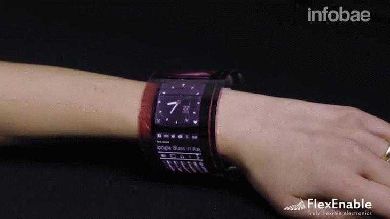 Se viene el celular en forma de pulsera !!! Pasá y enterate