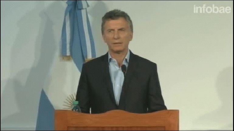 Macri: Lo que le cambia la vida a la gente y la hace progresar es la inversión, no el gasto público