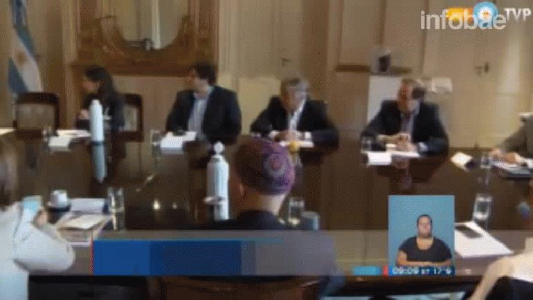 Esta vez Macri recibió a su gabinete en Casa Rosada