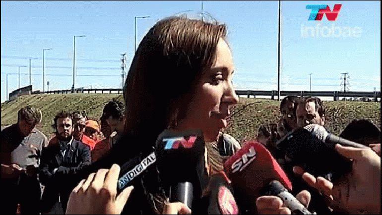 María Eugenia Vidal habló de su separación de Ramiro Tagliaferro