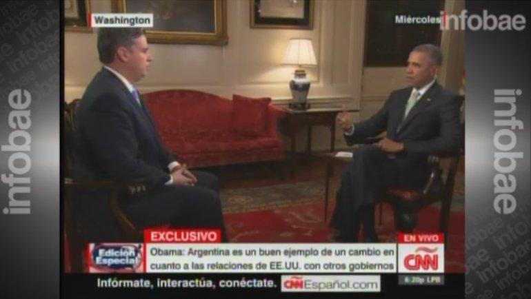 El presidente Barack Obama sostuvo que con Macri la Argentina es un buen ejemplo