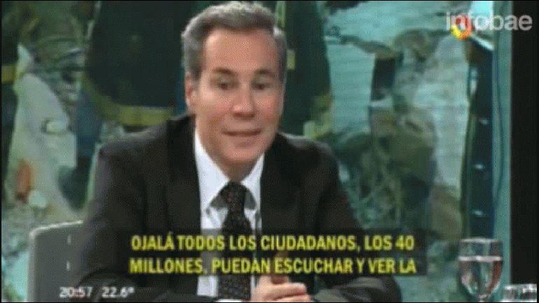 El director de la Agencia Judía de Noticias presentó a la Justicia el audio de una entrevista que le hizo a Alberto Nisman días antes de su muerte.