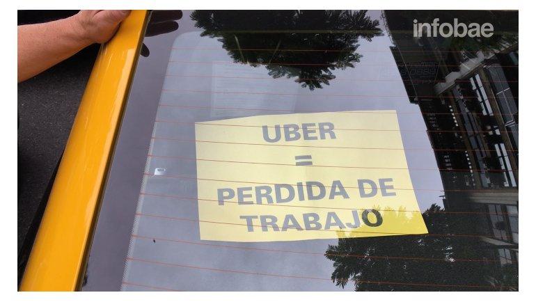 Macri me defraudó: quiere prohibir Uber