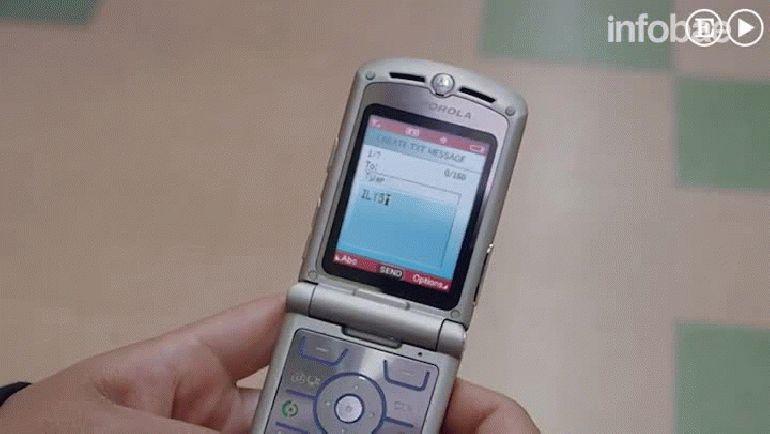 El spot de Motorola donde se muestra el modelo Razvr V3