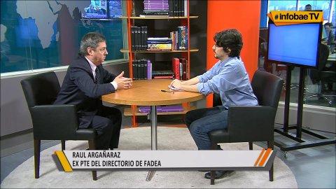 La entrevista completa con Raúl Argañaraz