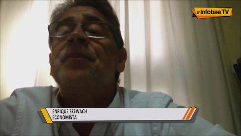 El economista Enrique Szewach habkló en InfobaeTV del dólar ahorro