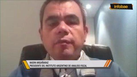 Nadín Argañaraz, presidente de IARAF, analizó en InfobaeTV con Luis Novaresio el mercado de trabajo y la política impositiva