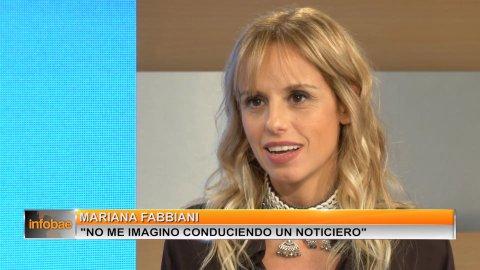 """Mariana Fabbiani: """"No me gusta sentir miedo, intento salirme"""
