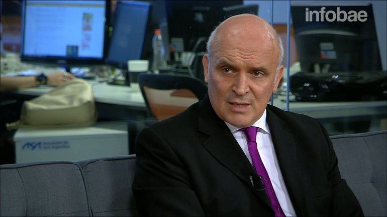 José Luis Espert dijo a InfobaeTV que El estado necesita unos USD 30.000 millones para cerrar sus necesidades de financiamiento este año