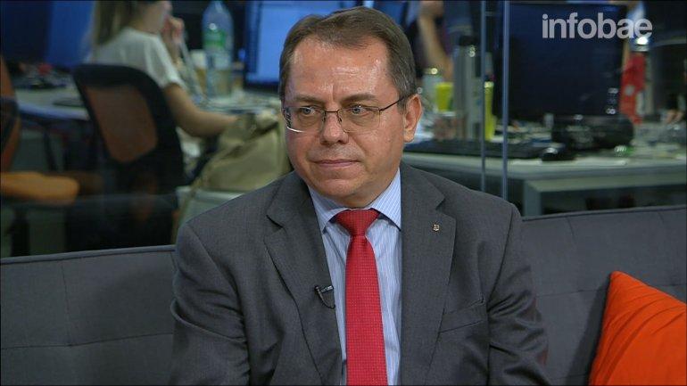 Yuri Diudin, embajador de Ucrania en Argentina, en diálogo con Infobae