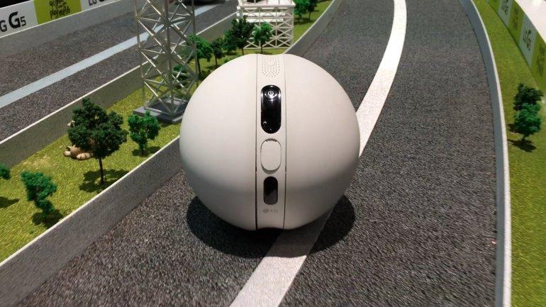 El Rolling Bot de LG