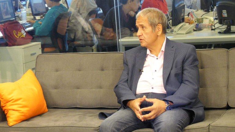 Sergio Palazzo, de La Bancaria, criticó el mínimo no imponible que anunció el Gobierno.