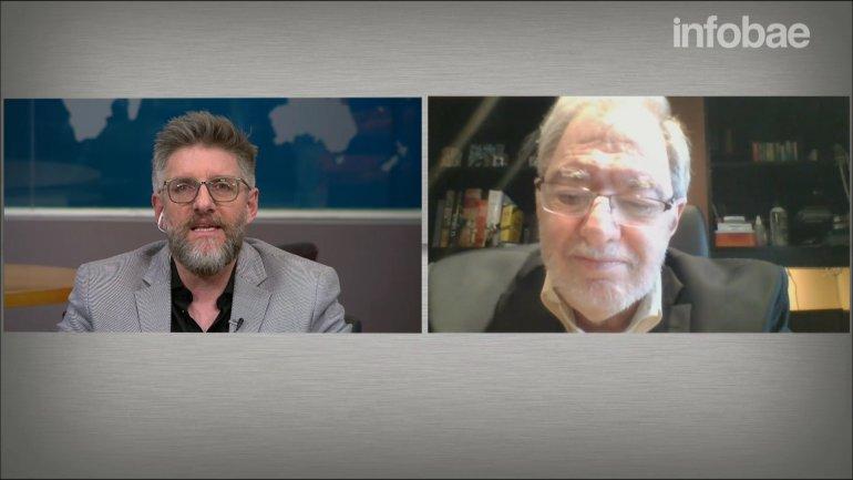 Claudio Loser dijo a InfobaeTV: Desde el mundo esto es una excelente noticia