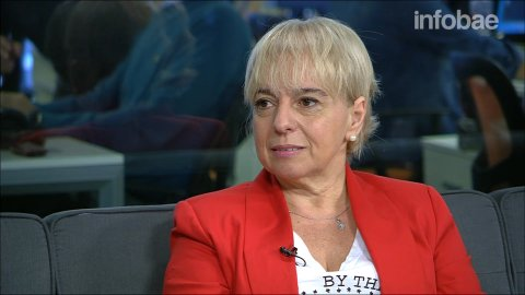 Silvana Giudici, en InfobaeTV