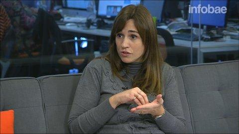 María Laura Cali:Cuando queda un puesto vacante, las empresas lo reabsorben con su propio personal en vez de salir a contratar